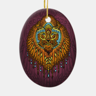 Ornamento De Cerâmica Minha voz interna, Tarot, força, innerpower