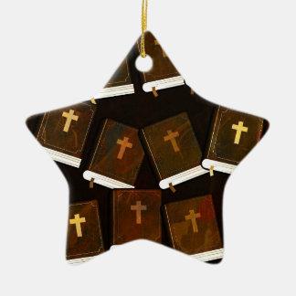 Ornamento De Cerâmica Ministério abstrato da Bíblia Sagrada