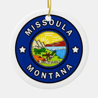 Ornamento De Cerâmica Missoula Montana
