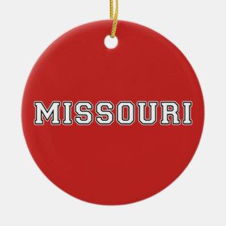 Ornamento De Cerâmica Missouri