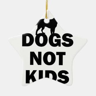 Ornamento De Cerâmica Miúdos dos cães não