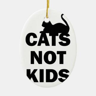 Ornamento De Cerâmica Miúdos dos gatos não