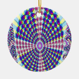 Ornamento De Cerâmica MODELO DIY da cor da imagem do texto do VAZIO do