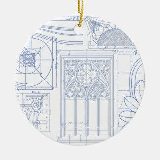 Ornamento De Cerâmica Modelos arquitectónicos