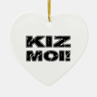 Ornamento De Cerâmica Moi de Kiz! Francês de Kizomba