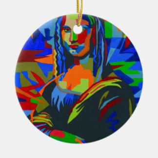 Ornamento De Cerâmica Mona Lisa Wpap