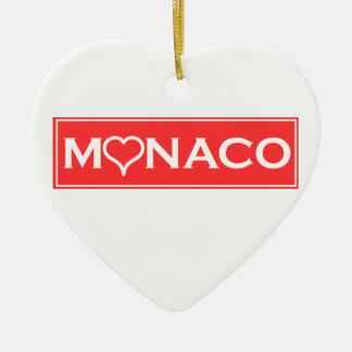 Ornamento De Cerâmica Mónaco