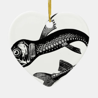Ornamento De Cerâmica Monstro de mar