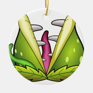 Ornamento De Cerâmica monstro do flytrap de venus