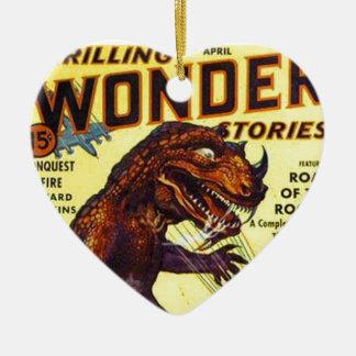 Ornamento De Cerâmica monstro do lagarto gigante