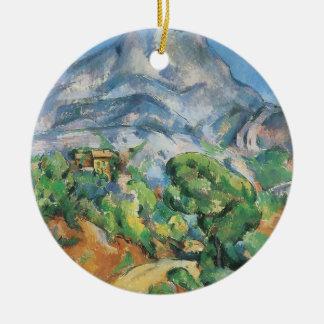 Ornamento De Cerâmica Mont Sainte Victoire acima de Tholonet, Paul