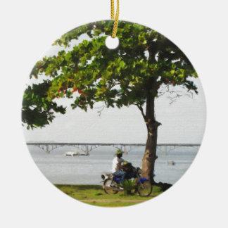 Ornamento De Cerâmica Montada no caribe
