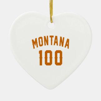Ornamento De Cerâmica Montana 100 designs do aniversário