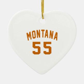 Ornamento De Cerâmica Montana 55 designs do aniversário