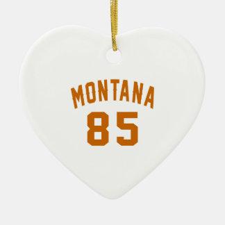 Ornamento De Cerâmica Montana 85 designs do aniversário