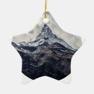 Ornamento De Cerâmica Montanha