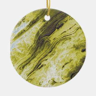 Ornamento De Cerâmica Montanhas apalaches no estilo do relâmpago de