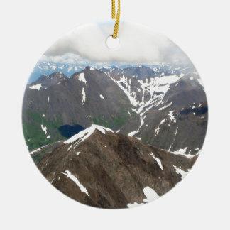 Ornamento De Cerâmica Montanhas de Kenai, Alaska