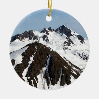 Ornamento De Cerâmica Montanhas de Kenai, Alaska 3