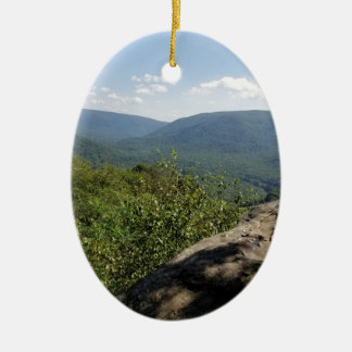 Ornamento De Cerâmica Montanhas Pensilvânia do louro