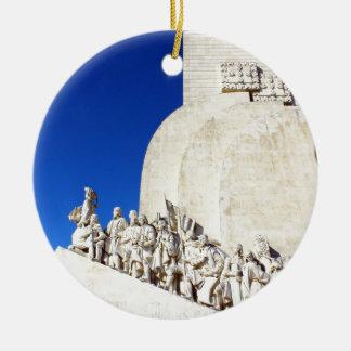 Ornamento De Cerâmica Monument to the Portuguese Sea Discoveries