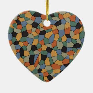 Ornamento De Cerâmica Mosaico