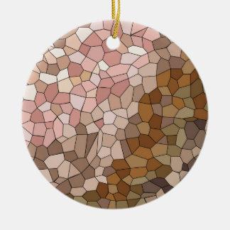 Ornamento De Cerâmica Mosaico do tom de pele