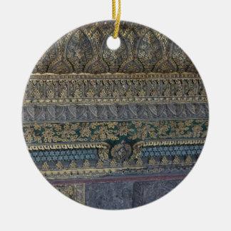 Ornamento De Cerâmica Mosaico real