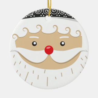 Ornamento De Cerâmica Motivo do Natal de Papai Noel