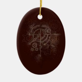 Ornamento De Cerâmica Motivo espectral de SteamPunk
