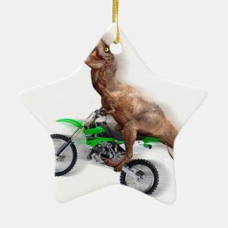 Ornamento De Cerâmica Motocicleta do rex de T - passeio do rex de t -