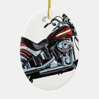 Ornamento De Cerâmica Motociclista da bicicleta da motocicleta