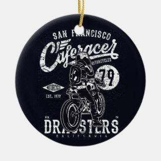 Ornamento De Cerâmica Motor Califórnia do piloto do café de San