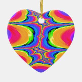 Ornamento De Cerâmica Movimentos do Fractal da existência
