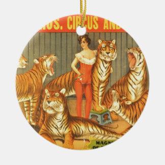 Ornamento De Cerâmica Muitos Pet tigres