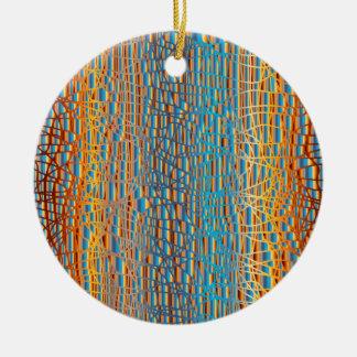 Ornamento De Cerâmica Multi fundo da cor