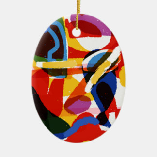 Ornamento De Cerâmica Mundo abstrato da modificação