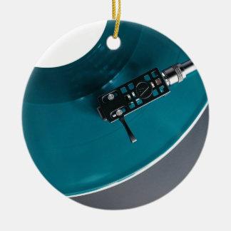 Ornamento De Cerâmica Música do álbum gravado de vinil da plataforma