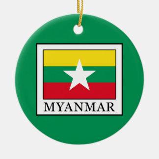 Ornamento De Cerâmica Myanmar