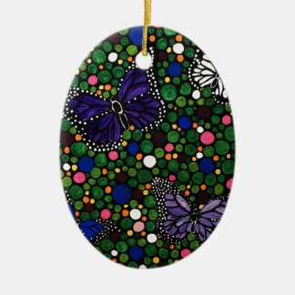 Ornamento De Cerâmica Na primavera jardim