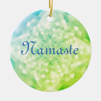 Ornamento De Cerâmica Namaste