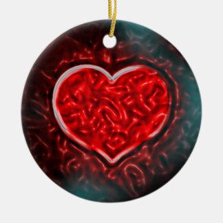Ornamento De Cerâmica Namorados valentes