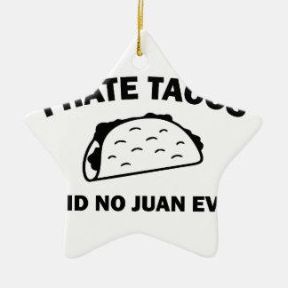 Ornamento De Cerâmica Não disse nenhum Juan nunca