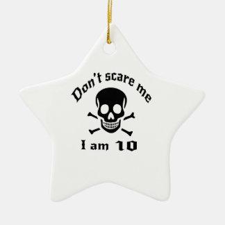 Ornamento De Cerâmica Não faz o susto mim que eu sou 10
