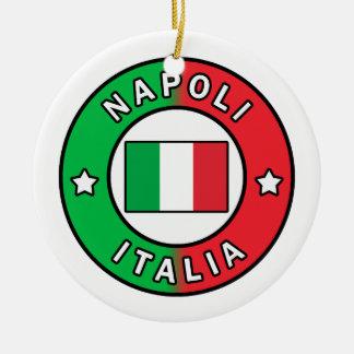 Ornamento De Cerâmica Napoli Italia