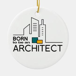 Ornamento De Cerâmica Nascer a ser um arquiteto