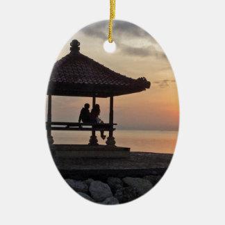 Ornamento De Cerâmica Nascer do sol de Beautidul em Bali