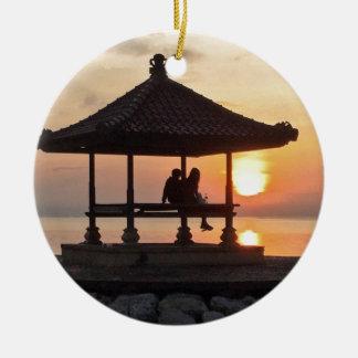 Ornamento De Cerâmica Nascer do sol em Bali