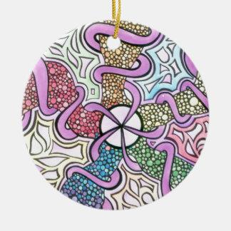 Ornamento De Cerâmica Nascimento de uma estrela