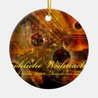 Ornamento De Cerâmica Natais joviais